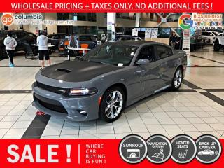 Used 2019 Dodge Charger GT Plus - No Accident / Nav / Sunroof for sale in Richmond, BC
