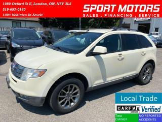 Used 2008 Ford Edge SEL With Remote Start for sale in London, ON