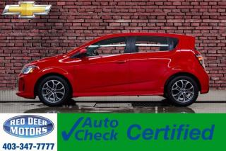 Used 2018 Chevrolet Sonic LT RS BCam for sale in Red Deer, AB