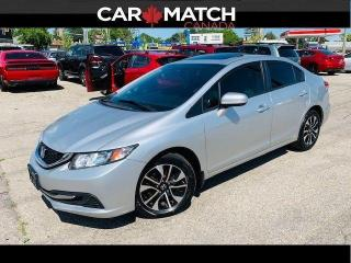 Used 2014 Honda Civic EX / AUTO / SUNROOF for sale in Cambridge, ON
