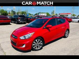 Used 2015 Hyundai Accent SE / SUNROOF / NO ACCIDENTS for sale in Cambridge, ON