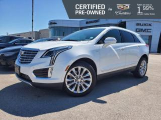 Used 2017 Cadillac XT5 Platinum AWD | Suede Headliner | Adaptive Cruise for sale in Winnipeg, MB