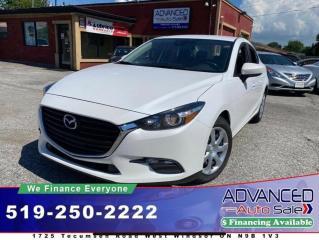 Used 2018 Mazda MAZDA3 GX Convenience With Nav Pckg for sale in Windsor, ON