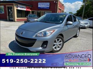 Used 2012 Mazda MAZDA3 GX CONVENIENCE for sale in Windsor, ON