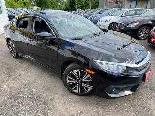 Used 2017 Honda Civic EX-T/ H. SENSING/ SUNROOF/ CAM/ ALLOYS/ SPOILER++ for sale in Scarborough, ON