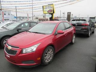 Used 2012 Chevrolet Cruze Eco w/1SA for sale in Halifax, NS