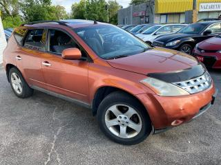 Used 2003 Nissan Murano SL/ 4WD/ SUNROOF/ ALLOYS/ COLD ACD/ TINTED for sale in Scarborough, ON