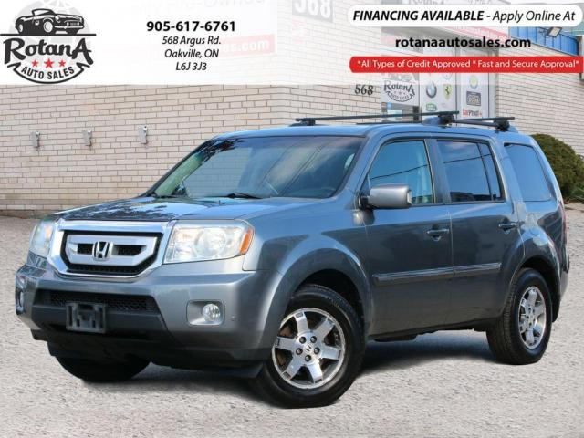 2009 Honda Pilot 4WD 4dr Touring_Navi_DVD_Sunroof_Bluetooth