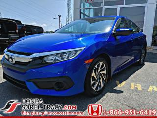 Used 2017 Honda Civic EX 4 portes CVT for sale in Sorel-Tracy, QC