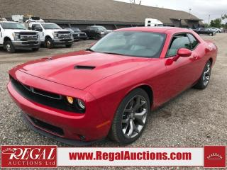 Used 2016 Dodge CHALLENGER SXT PLUS 2D COUPE 3.6L for sale in Calgary, AB