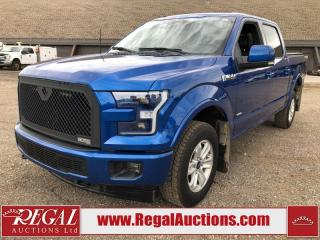 Used 2017 Ford F-150 LARIAT SUPERCREW SWB 4WD 3.5L for sale in Calgary, AB