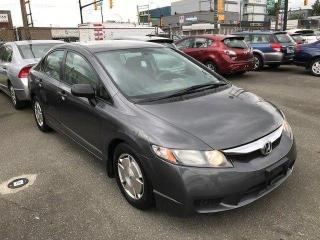 Used 2010 Honda Civic DX-G for sale in Vancouver, BC