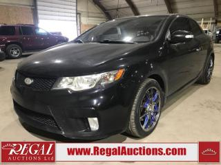 Used 2010 Kia FORTE SX 2D COUP for sale in Calgary, AB