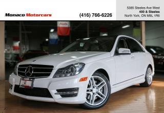 Used 2014 Mercedes-Benz C-Class C300 4MATIC - AMG|PANO ROOF|NAVI|BACKUP CAMERA for sale in North York, ON