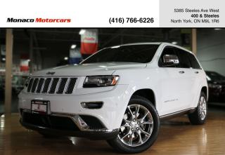 Used 2014 Jeep Grand Cherokee SUMMIT 4WD - 5.7L V8|ACTIVE CRUISE|PANO|NAV|BACKUP for sale in North York, ON