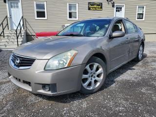 Used 2008 Nissan Maxima SL for sale in Stittsville, ON
