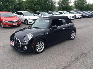 Used 2020 MINI Cooper Convertible Cooper CONVERTIBLE - LEATHER - BACK UP CAM! for sale in Ottawa, ON