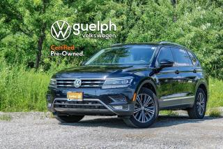 Used 2018 Volkswagen Tiguan Highline Dual Zone A/C, Sirius Satellite Radio, 360 Camera for sale in Guelph, ON