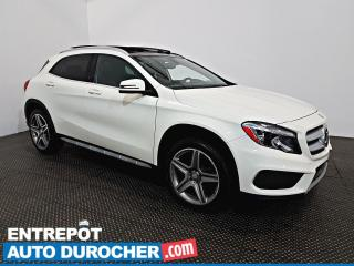 Used 2016 Mercedes-Benz GLA GLA 250 AWD NAVIGATION - Toit Ouvrant - A/C - Cuir for sale in Laval, QC