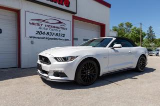 Used 2017 Ford Mustang 2dr Conv GT Premium  ** Roush Pkg** for sale in Winnipeg, MB