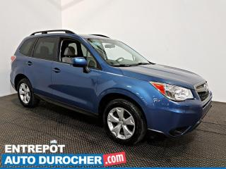 Used 2016 Subaru Forester I Convenience AWD AIR CLIMATISÉ - Caméra de Recul for sale in Laval, QC