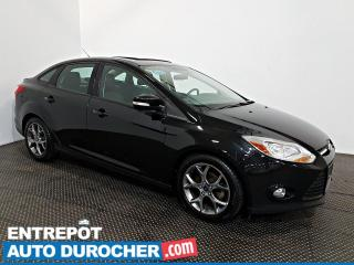 Used 2013 Ford Focus SE TOIT OUVRANT - A/C - Sièges Chauffants  - Cuir for sale in Laval, QC