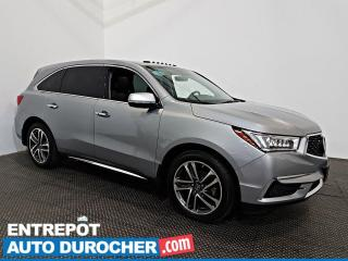 Used 2017 Acura MDX Nav Pkg AWD NAVIGATION - Toit Ouvrant -7 Passagers for sale in Laval, QC