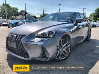 Used 2017 Lexus IS 350 F-SPORT 3  LEATHER  ROOF  NAVI  MARK LEVINSON for sale in Ottawa, ON