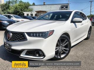 Used 2019 Acura TLX Tech A-Spec A-SPEC & TECH PKG  MILANO LEATHER  ROO for sale in Ottawa, ON