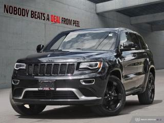 Used 2016 Jeep Grand Cherokee 4WD 4dr Overland for sale in Mississauga, ON