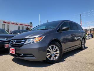 Used 2016 Honda Odyssey SE Air - Alloy - Rear Camera for sale in Mississauga, ON
