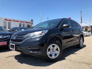 Used 2016 Honda CR-V LX Air - Power group - Bluetooth - Rear camera for sale in Mississauga, ON