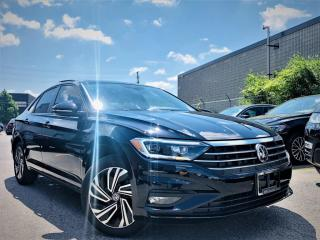 Used 2019 Volkswagen Jetta |EXECLINE|VENT MEMORY SEATS|NAVIGATION|SUNROOF|REAR VIEW! for sale in Brampton, ON
