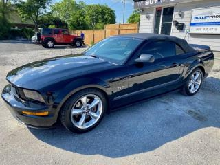 Used 2006 Ford Mustang 2dr Conv GT, manual transmission, low km's for sale in Halton Hills, ON