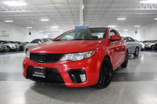 Used 2012 Kia Forte SX I NO ACCIDENTS I SUNROOF I LEATHER I HEATED SEATS for sale in Mississauga, ON