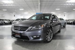 Used 2015 Honda Accord SPORT I SUNROOF I REAR CAM I BIG SCREEN I HEATED SEATS I BT for sale in Mississauga, ON
