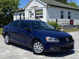 Used 2013 Volkswagen Jetta Sedan No-Accidents Trendline+ Bluetooth Heated Seats A/C Cruise for sale in Sutton, ON
