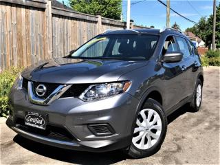 Used 2016 Nissan Rogue S-BACKUP CAMERA-BLUETOOTH-NO ACCIDENTS-90KMS for sale in Toronto, ON