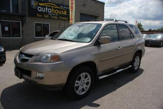 Used 2004 Acura MDX 7PASS,S-AWD,LEATHER,SUNROOF for sale in Newmarket, ON