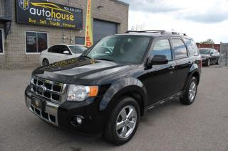 Used 2012 Ford Escape Limited,AWD,NAVIGATION,LEATHER,SUNROOF,CHROME WHEELS for sale in Newmarket, ON