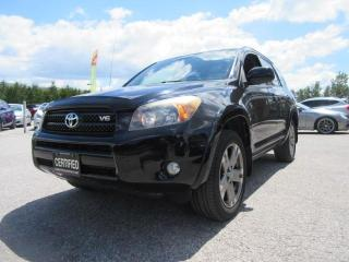 Used 2008 Toyota RAV4 4WD/ V6 /Sport for sale in Newmarket, ON