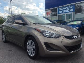 Used 2015 Hyundai Elantra GL - Automatic - Bluetooth - Heated Seats for sale in Cornwall, ON