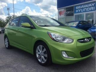 Used 2014 Hyundai Accent GLS - Sunroof - Bluetooth for sale in Cornwall, ON