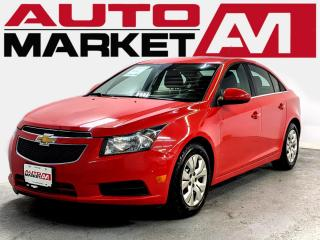 Used 2014 Chevrolet Cruze 1LT Auto CERTIFIED, ACCIDENT FREE, WE APPROVE ALL CREDIT for sale in Guelph, ON