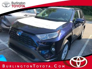 New 2020 Toyota RAV4 AWD Hybrid XLE for sale in Burlington, ON