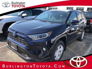 New 2020 Toyota RAV4 AWD Hybrid XLE for sale in Burlington, ON