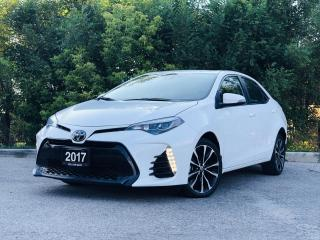 Used 2017 Toyota Corolla XSE|CERTIFIED|| TEXT US|647.678.7778| LEATHER|NAVI|SUNROOF|ALLOYS|CLEANCARFAX| for sale in Mississauga, ON