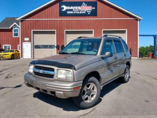 Used 2003 Chevrolet Tracker 4-Door 4WD MINT SHAPE! VERY RARE! 4x4! Cruise! for sale in Dunnville, ON