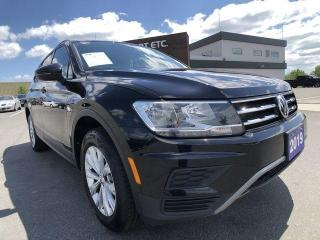 Used 2019 Volkswagen Tiguan Trendline AWD PREVIOUS DAILY RENTAL for sale in Sudbury, ON