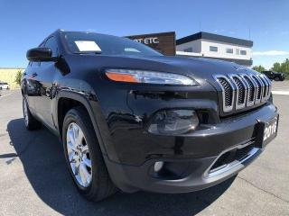 Used 2016 Jeep Cherokee Limited for sale in Sudbury, ON